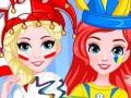Game Best Friends: World Championship in Face Colouring. Speel online